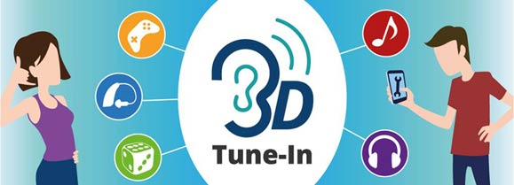 3D Tune-In Toolkit for binaural audio now ready!