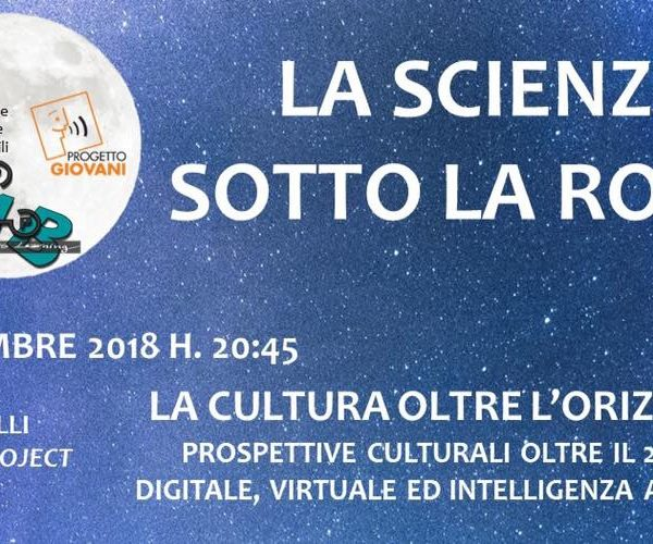 PLUGGY @ La Scienza sotto la Rocca (Science under the Rock)