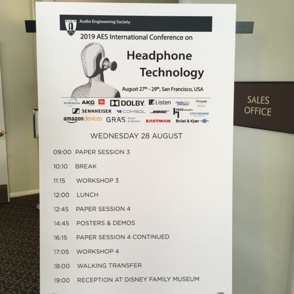 PLUGGY @ AES conference on Headphones Technology
